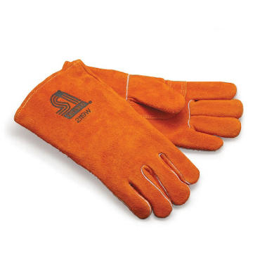 AMACO Heat-Resistant Leather Gloves, Pair