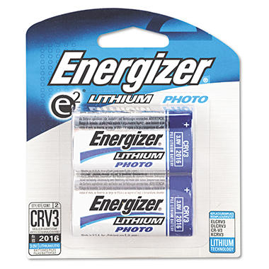 Energizer e2 Lithium Ditigal Camera 3-Volt Battery