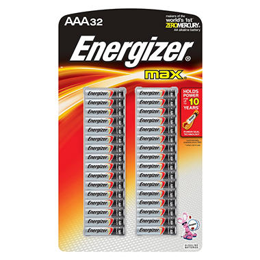 Energizer MAX AAA Batteries - 32 ct.