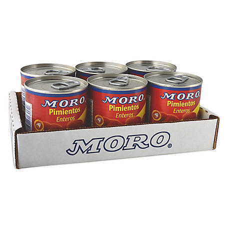 Moro Sweet Red Peppers - 7 oz. - 6 pk.