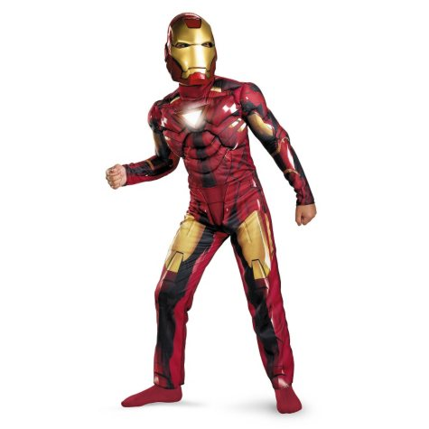 Ironman 2 Mark 6 Muscle Costume - Size 7-8