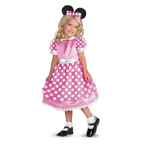Shimmer Minnie Mouse Toddler Costume with Glovettes