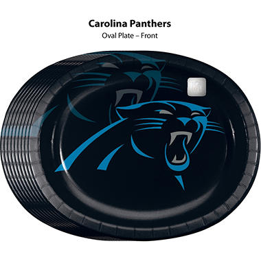 Carolina Panthers Platter (50 ct.)