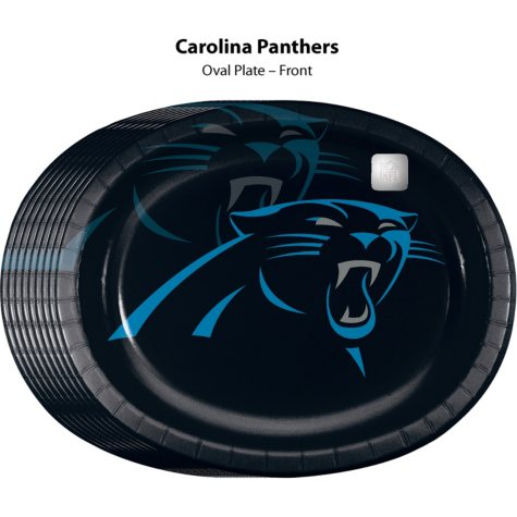 Carolina Panthers Platter (50 ct.)