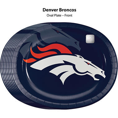 Denver Broncos Platter (50 ct.)