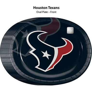 Houston Texans Platter (50 ct.)
