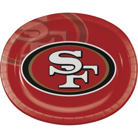 San Francisco 49ers Platter (50 ct.)