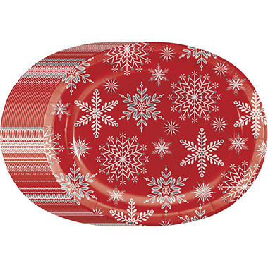 Memberu0027s Mark Peaceful Snow Paper Plates ...  sc 1 st  Samu0027s Club & Memberu0027s Mark Peaceful Snow Paper Plates 10
