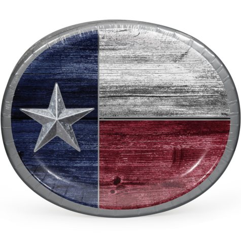 Member's Mark Unrefined Texas Oval Plates 50 ct.