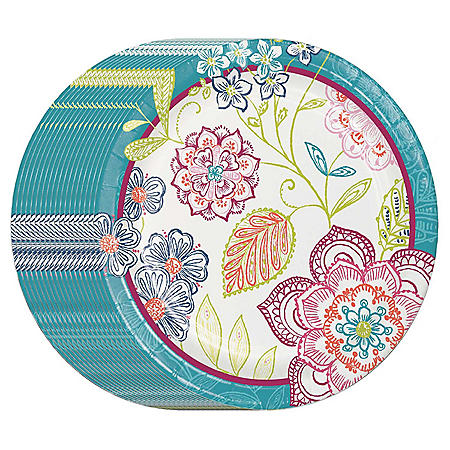 "Member's Mark Jubilee Floral 10"" Paper Plates - 90 ct."