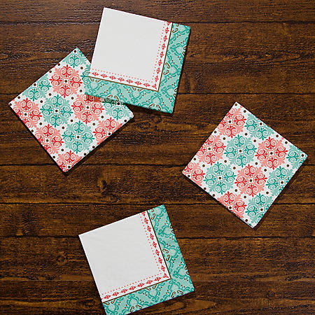 Artstyle Classic Mosaic Napkins Twin Stack (200 ct.)