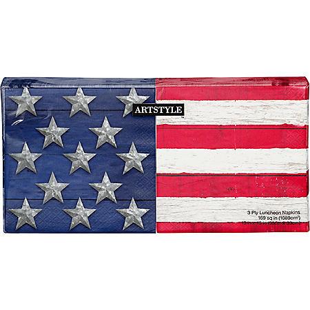 Artstyle Stars and Stripes Napkins - 200 ct.
