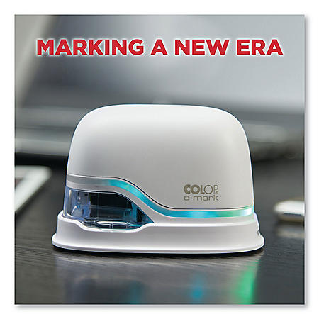 Colop e-mark Digital Marking Device, Customizable Size and Message with Images, White