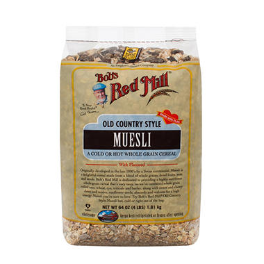 Bob's Red Mill Old Country Style Muesli (64 oz.)