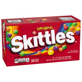 Skittles Original Candy (2.17 oz., 36 ct.)