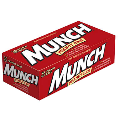 Munch Peanut Bars - 1.42 oz. - 36 ct.