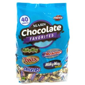 Mars Chocolate Mini Mix Bag (40 oz., 2 pk.)
