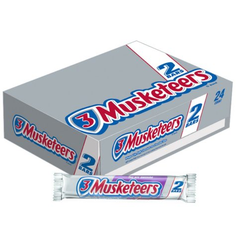 3 Musketeers® - 24/3.28 oz. packages