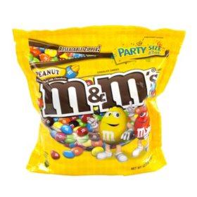 M&M's Peanut Milk Chocolate Candies (42 oz.)