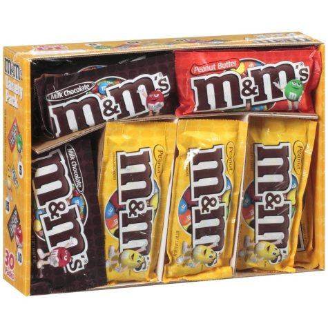 M&M's® Variety Pack - 30 pks.