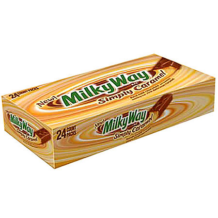 Milky Way Simply Caramel Single (24 pk.)