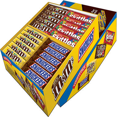 Mars Candy in a Ready to Display Counter Unit (52 ct.)