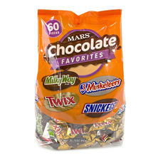 Mars Fun Size Variety Mix (29.7 oz., 60 pcs.)