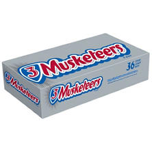 3 MUSKETEERS Chocolate Singles Size Candy (1.92 oz., 36 ct.)