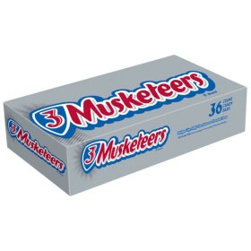 3 Musketeers Chocolate Bar (1.92 oz., 36 ct.)