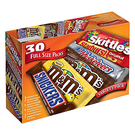 Mars One Stop Variety Pack  (30 ct.)