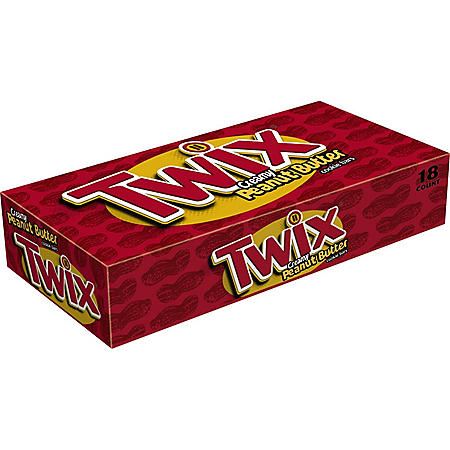 Twix Peanut Butter Chocolate Singles Cookie Bar (1.68 oz., 18 ct.)