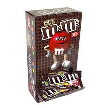 M&M's Chocolate Candies, Milk Chocolate (1.69 oz. pk., 48 ct.)