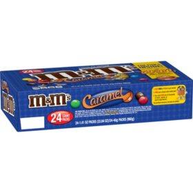 M&M's Caramel Singles (1.41 oz., 24 ct.)