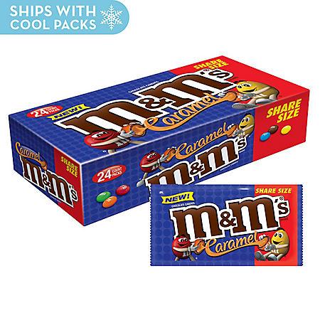 M&M's Caramel King Size (2.83 oz., 24 ct.)