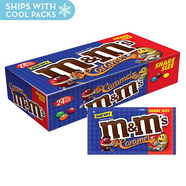 M&M's Caramel King Size (2.83 oz., 24 ct.)