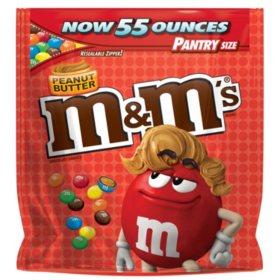 M&M's Peanut Butter Pantry Size Bag (55 oz.)