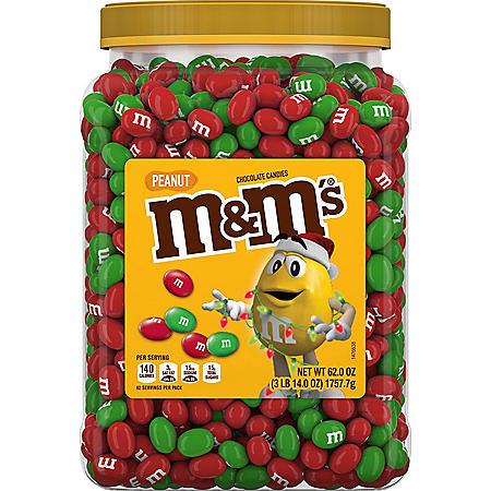 M&M'S Peanut Chocolate Holiday Candy (62 oz.)