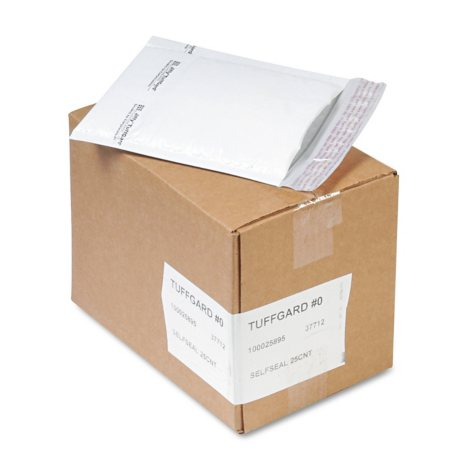 Sealed Air - Tuffguard Self-Seal Cushioned Mailers - 25 Pack.