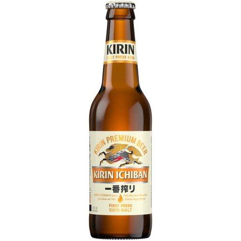 Kirin Ichiban Beer (12 fl. oz. bottle, 24 pk.)