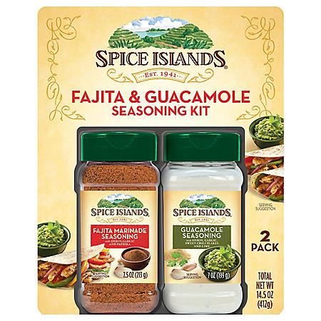 Spice Islands Fajita Marinade and Guacamole Seasoning (2 pk.)