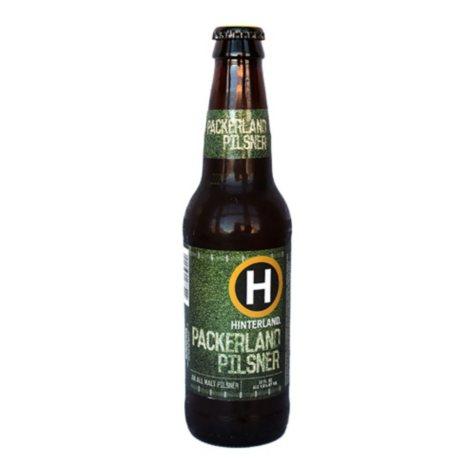 Hinterland Packerland Pilsner (12 fl. oz. bottle, 6 pk.)