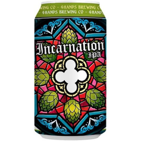 4 Hands Incarnation IPA (12 fl. oz. can, 12 pk.)
