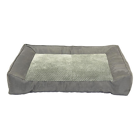 "DMC Chopped Memory Foam Couch Pet Bed, 28"" x 40"" (Choose Your Color)"