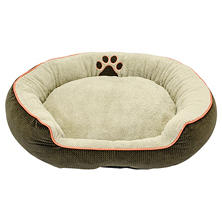 "DMC Oval Bolster Pet Bed, 36"" (Choose Your Color)"