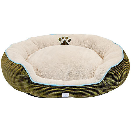 """Cozy Pet Deluxe Oval Pet Bed, 36"""" x 30"""" (Choose Your Color)"""