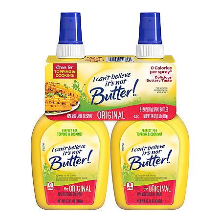 I Can't Believe It's Not Butter Original Spray (2 pk.)