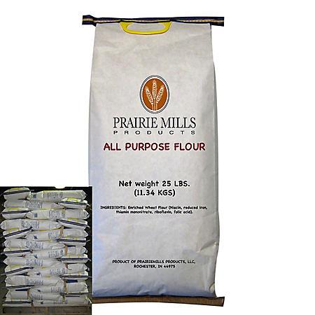 Prairie Mills All Purpose Flour (25 lbs., 80 ct.)