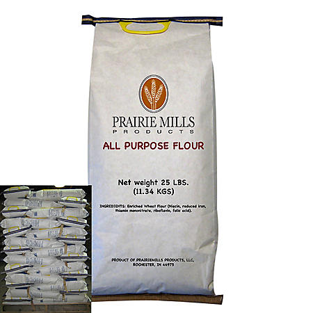 OFFLINE-Prairie Mills All Purpose Flour (25 lbs., 80 ct.)