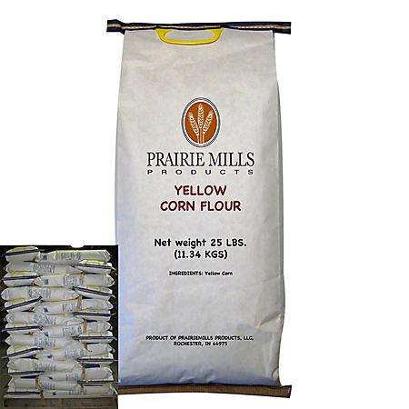 OFFLINE-Prairie Mills Yellow Corn Flour (25 lbs., 80 ct.)