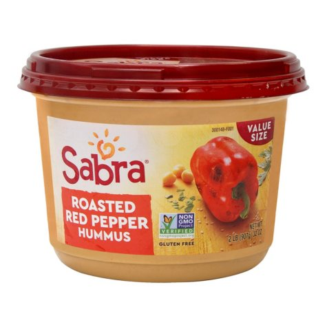 Sabra Roasted Red Pepper Hummus (32 oz.)